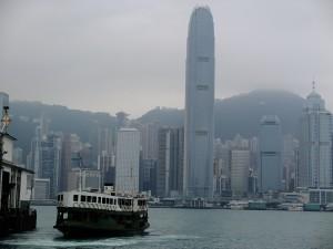 九龍から見た香港島,20130401