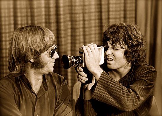 マンザレク(左)とモリソン(右)