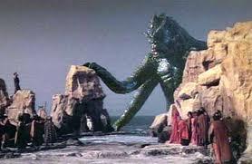 大怪獣クラーケン、タイタンの戦い