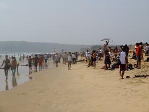 カラングーテの浜の人々、ゴア