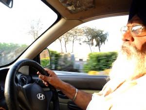 シク教徒の運転手、ムンバイ