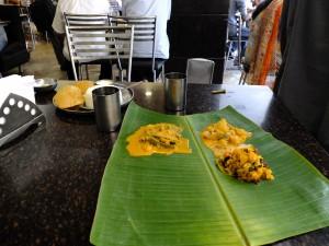 New Tajimahal Cafe、ターリー 食前、マンガロール