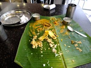 New Tajimahal Cafe、ターリー 食後、マンガロール