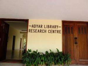 アドヤール図書館、神智学協会、チェンナイ