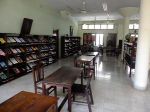 アドヤール図書館の二階図書室、神智学協会、チェンナイ