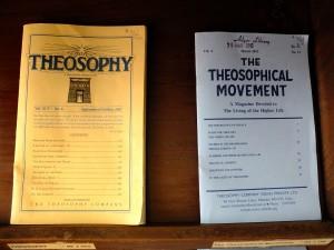 神智学にまつわる書籍、神智学協会、チェンナイ