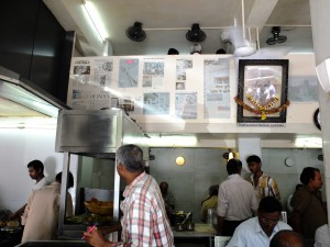 Pancham Puriwala店内、ムンバイ