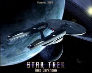エンタープライズ号、stra trek into darkness
