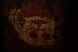 木戸に描かれた絵、サニ・ゴンパ