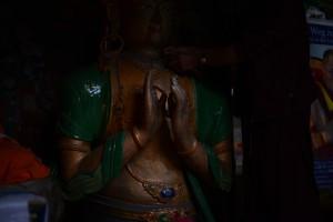 仏像、サニ・ゴンパ