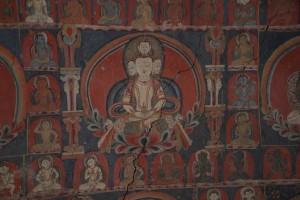 石窟内壁画、サスポル