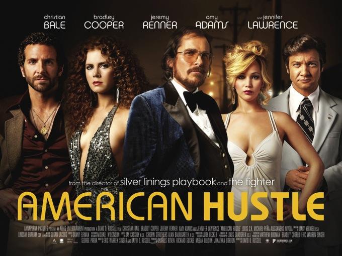 【映画】『アメリカン・ハッスル/American Hustle』レビュー