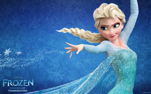 Disney frozen elsa wide