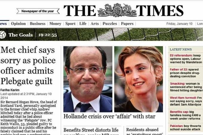 【コラム】仏オランド大統領の不倫スキャンダルに見るフランスの政性分離報道