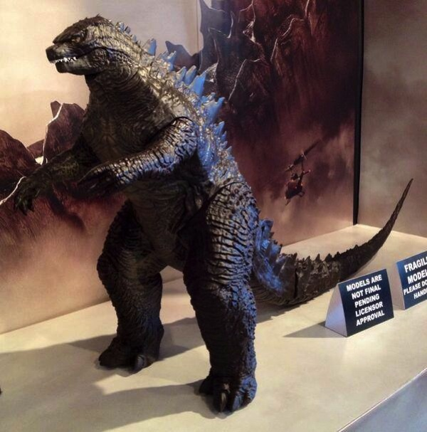 Godzilla model revealed dec 2014 2