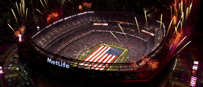 Superbowl xlvii at metlife stadium original