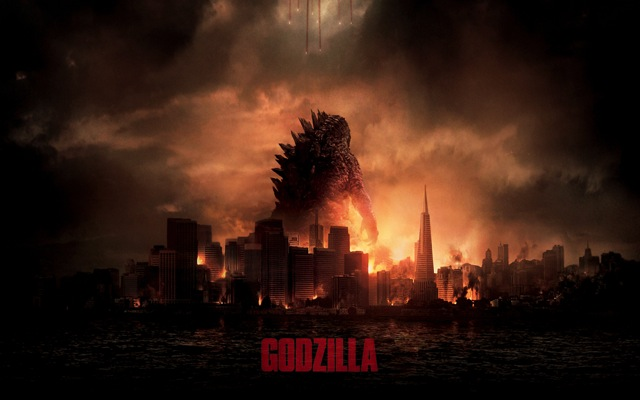 Godzilla 2014 movie wide