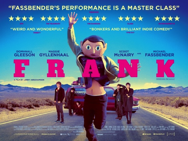 Frank movie poster michael fassbender