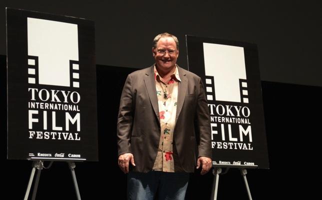 【東京映画祭】ジョン・ラセターが語る『クール・ジャパン』その一。【青春時代、そして宮崎駿との出会い】