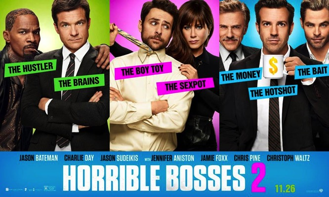 Horrible Bosses 2 Banner