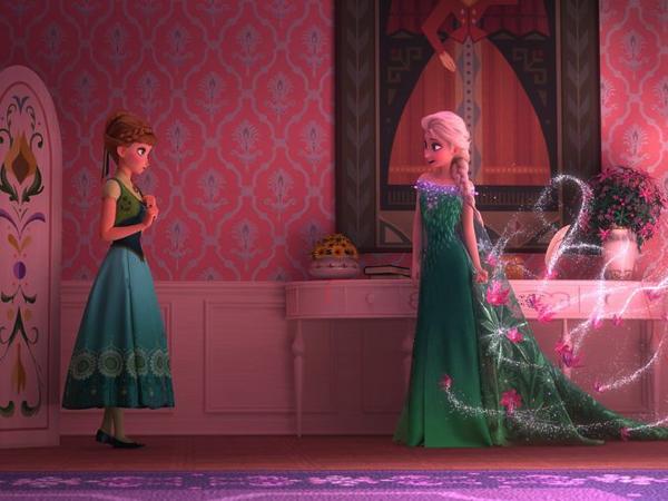 『アナと雪の女王』の続編『エルサのサプライズ』の映像が初公開!
