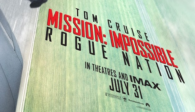 Mission Impossible Rogue Nation Tom Cruise Poster