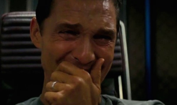 Matthew McConaughey crying in Interstellar 700x300