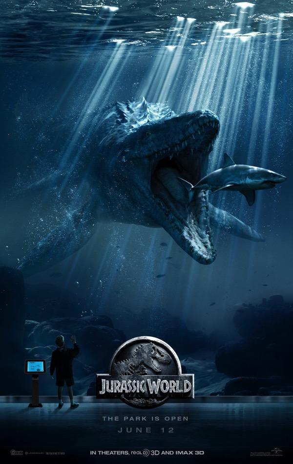 Jurassic world poster  1