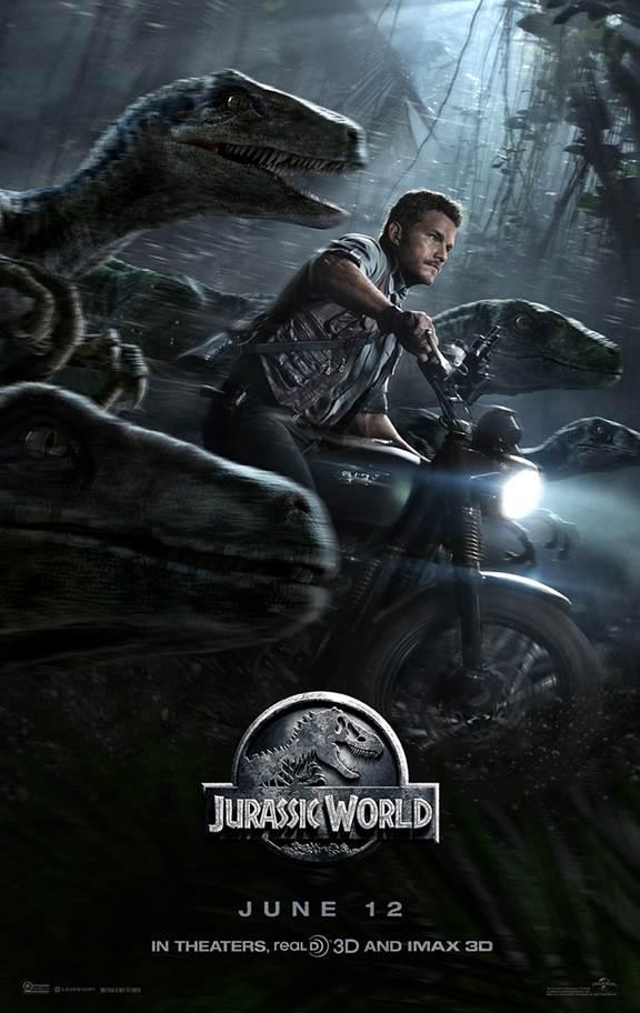 Jurassic world poster chris pratt