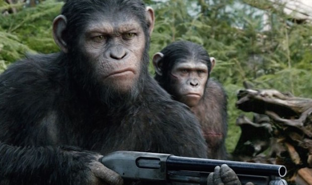 Dawn of the planet of the apes shotgun 600x450