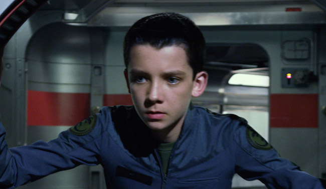 Enders game image asa butterfield