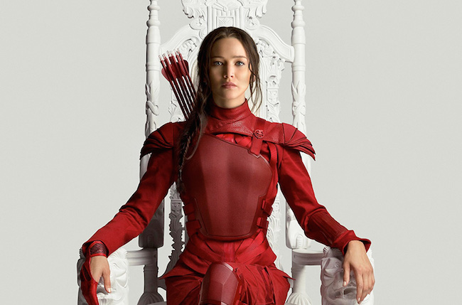 The hunger games mockingjay part 2 poster jennifer lawrence