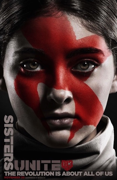 The hunger games mockingjay part 2 poster primrose 389x600