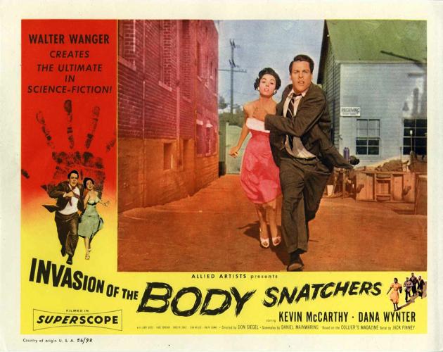 50年代SF映画傑作選⑨『ボディ・スナッチャー/恐怖の街』(1956)レビュー