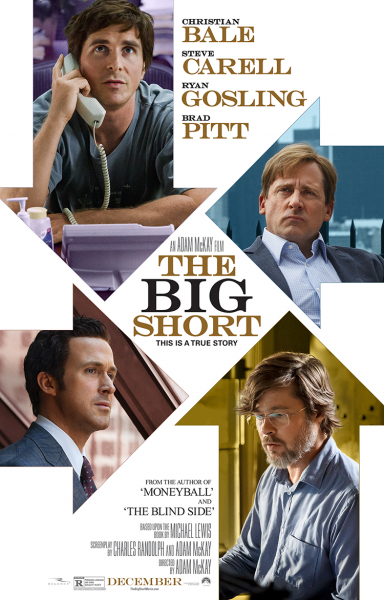 The big short poster steve carrell christian bale 384x600