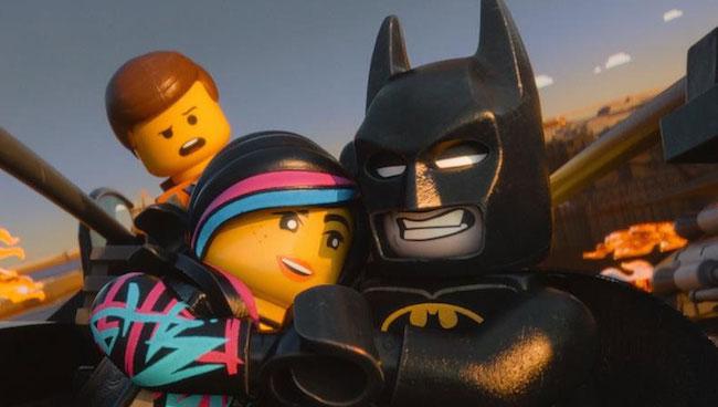 The lego movie image batman wyldstyle emmet
