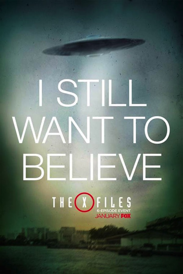 X files poster i still want to believe 3