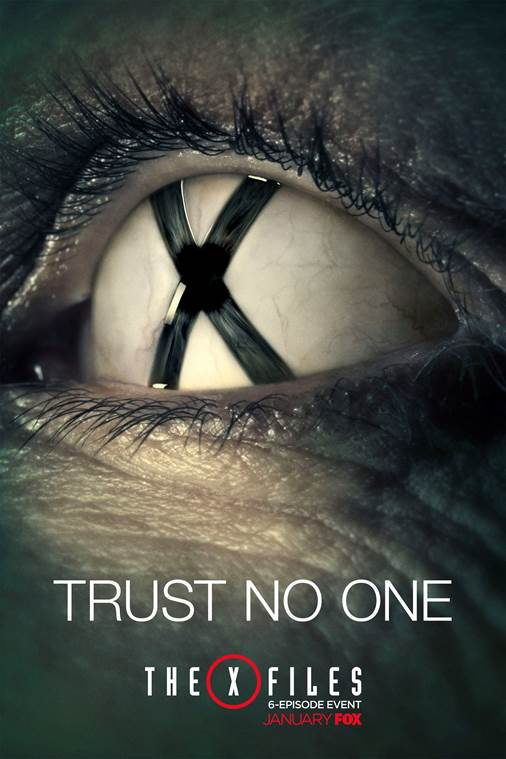 X files poster trust no one
