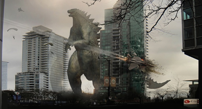Original script for godzilla 2014 featured a 600 foot tall godzilla different monsters much more