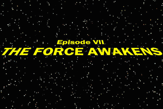 Star wars force awakens opening crawl pic