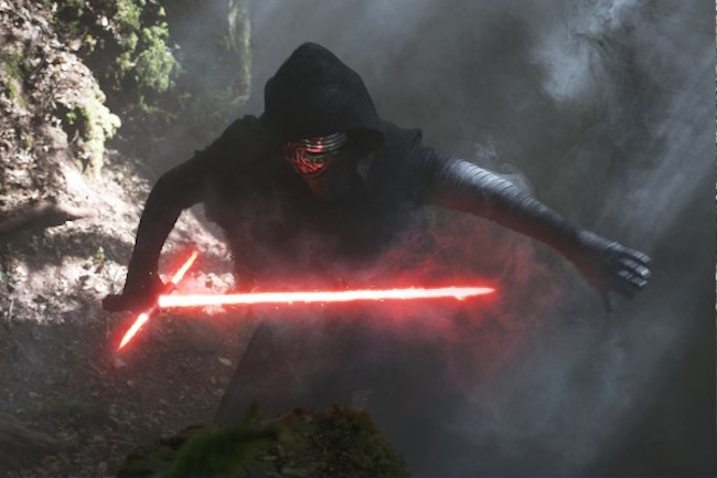 Star wars the force awakens kylo ren 600x400