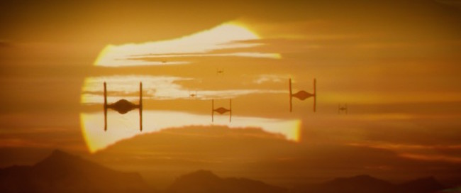 Star wars the force awakens tie fighters 600x251