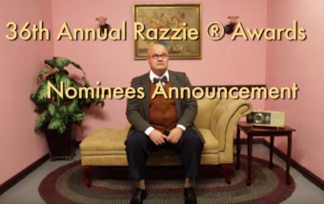 第36回ラジー賞ノミネート作が発表!2015年のクソ映画たちを一挙紹介