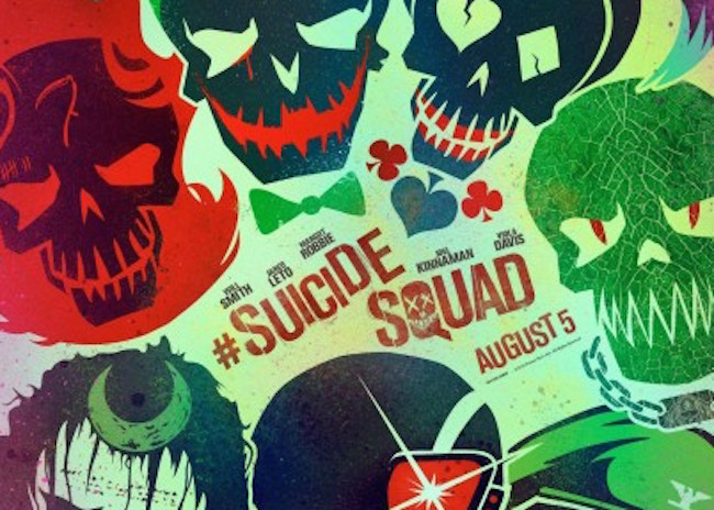 Suicide squad movie poster first 405x600