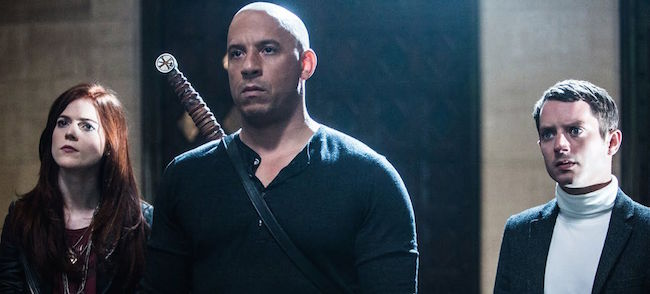 Last Witch Hunter Starring VIn Diesel Rose Leslie and Elijah Wood