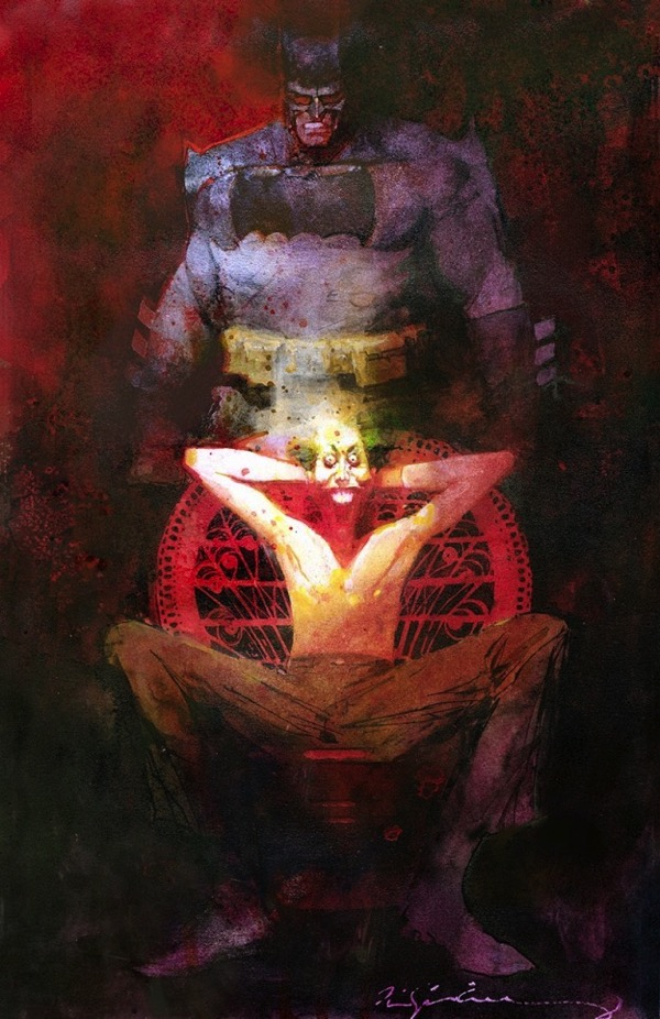 Batman art bill sienkiewicz