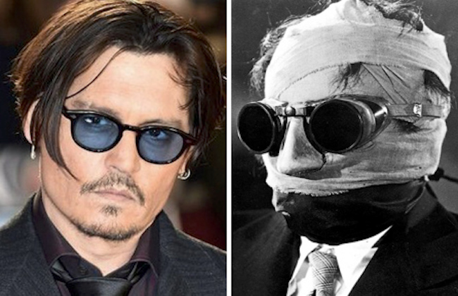 Johnny depp invisible man