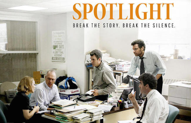 Spotlight one sheet