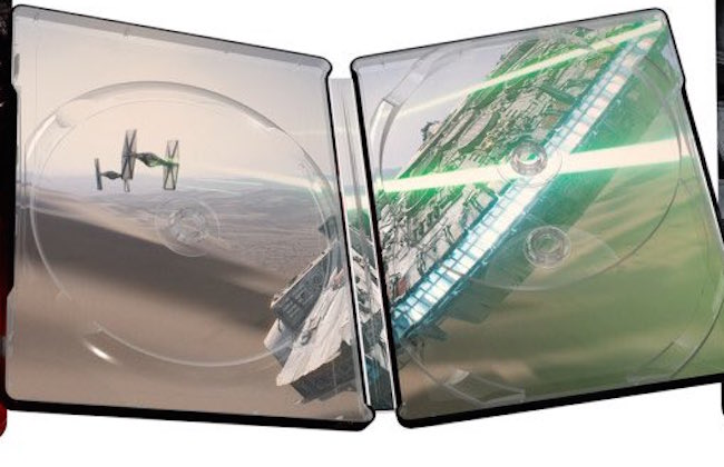Star wars the force awakens blu ray packaging