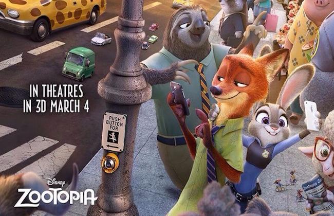 全米Box Office:『ズートピア』がディズニーオリジナルアニメとしては新記録となるスタートで首位!